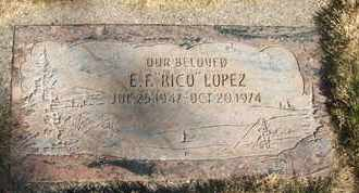 "LOPEZ, E.F. ""RICO"" - Coconino County, Arizona 