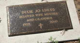 LUKUS, DIXIE JO - Coconino County, Arizona | DIXIE JO LUKUS - Arizona Gravestone Photos