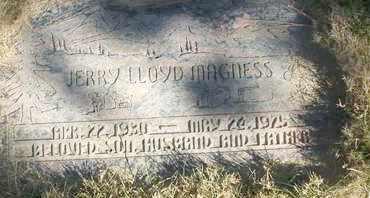 MAGNESS, JERRY LLOYD - Coconino County, Arizona | JERRY LLOYD MAGNESS - Arizona Gravestone Photos