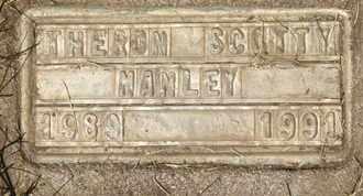 MANLEY, THERON SCOTTY - Coconino County, Arizona | THERON SCOTTY MANLEY - Arizona Gravestone Photos