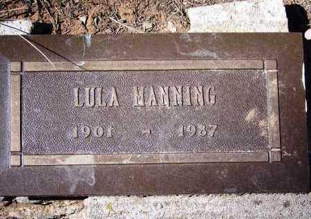 CHANCEY MANNING, LULA LEENORA - Coconino County, Arizona   LULA LEENORA CHANCEY MANNING - Arizona Gravestone Photos