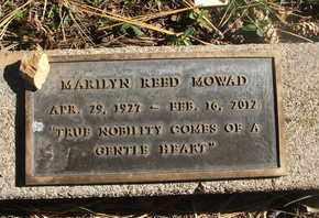 MARILYN, MOWAD - Coconino County, Arizona   MOWAD MARILYN - Arizona Gravestone Photos