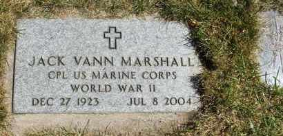 MARSHALL, JACK VANN - Coconino County, Arizona | JACK VANN MARSHALL - Arizona Gravestone Photos