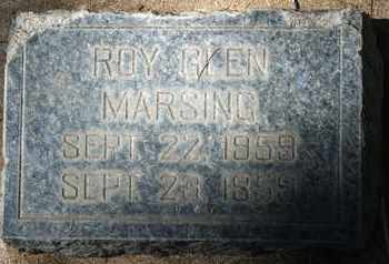 MARSING, ROY GLEN - Coconino County, Arizona | ROY GLEN MARSING - Arizona Gravestone Photos