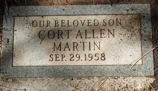 MARTIN, CORT ALLEN - Coconino County, Arizona | CORT ALLEN MARTIN - Arizona Gravestone Photos