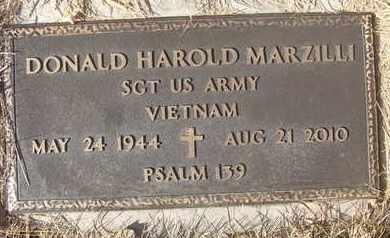 MARZILLI, DONALD HAROLD - Coconino County, Arizona | DONALD HAROLD MARZILLI - Arizona Gravestone Photos