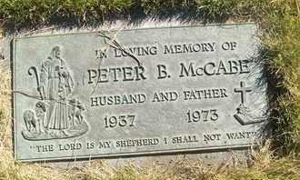 MCCABE, PETER B. - Coconino County, Arizona   PETER B. MCCABE - Arizona Gravestone Photos