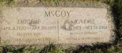 MCCOY, Z. LEWIS - Coconino County, Arizona | Z. LEWIS MCCOY - Arizona Gravestone Photos