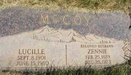 MCCOY, ZENNIE - Coconino County, Arizona | ZENNIE MCCOY - Arizona Gravestone Photos