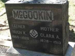 MCGOOKIN, CLARA A. - Coconino County, Arizona   CLARA A. MCGOOKIN - Arizona Gravestone Photos