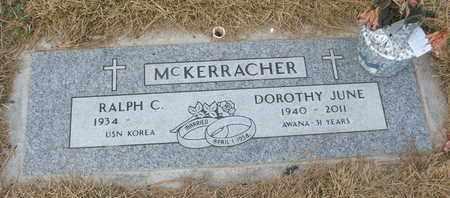 MCKERRACHER, RAPLH C. - Coconino County, Arizona | RAPLH C. MCKERRACHER - Arizona Gravestone Photos