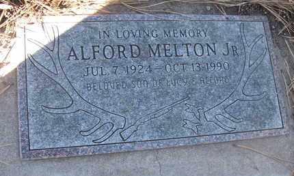 MELTON, JR., ALFORD - Coconino County, Arizona | ALFORD MELTON, JR. - Arizona Gravestone Photos