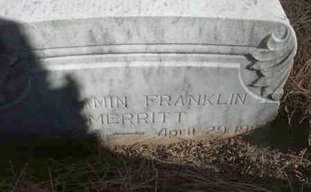MERRITT, BENJAMIN FRANKLIN - Coconino County, Arizona | BENJAMIN FRANKLIN MERRITT - Arizona Gravestone Photos