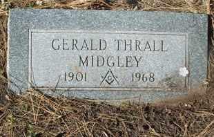 MIDGLEY, GERALD THRALL - Coconino County, Arizona | GERALD THRALL MIDGLEY - Arizona Gravestone Photos