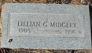 MIDGLEY, LILLIAN G. - Coconino County, Arizona | LILLIAN G. MIDGLEY - Arizona Gravestone Photos
