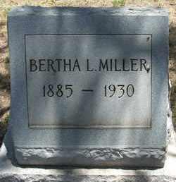 MILLER, BERTHA L. - Coconino County, Arizona | BERTHA L. MILLER - Arizona Gravestone Photos