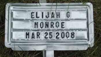 MONROE, ELIJAH G. - Coconino County, Arizona   ELIJAH G. MONROE - Arizona Gravestone Photos