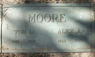 MOORE, TOM L. - Coconino County, Arizona | TOM L. MOORE - Arizona Gravestone Photos