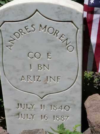 MORENO, ANDRES - Coconino County, Arizona   ANDRES MORENO - Arizona Gravestone Photos