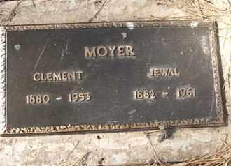 MOYER, CLEMENT - Coconino County, Arizona | CLEMENT MOYER - Arizona Gravestone Photos