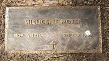 MOYER, MILLICENT - Coconino County, Arizona | MILLICENT MOYER - Arizona Gravestone Photos
