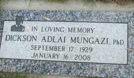 MUNGAZI, PHD, DICKSON ADLAI - Coconino County, Arizona   DICKSON ADLAI MUNGAZI, PHD - Arizona Gravestone Photos