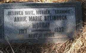 STEINBOCK MURRAY, ANNIE MARIE - Coconino County, Arizona | ANNIE MARIE STEINBOCK MURRAY - Arizona Gravestone Photos