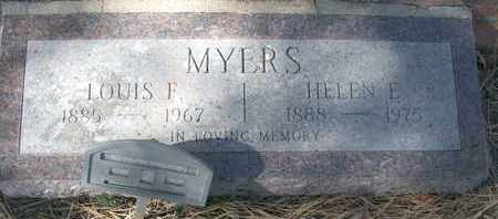 MYERS, HELEN E. - Coconino County, Arizona | HELEN E. MYERS - Arizona Gravestone Photos