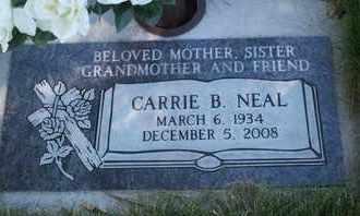 NEAL, CARRIE B - Coconino County, Arizona | CARRIE B NEAL - Arizona Gravestone Photos