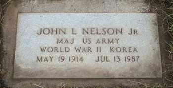 NELSON, JOHN L. JR. - Coconino County, Arizona | JOHN L. JR. NELSON - Arizona Gravestone Photos
