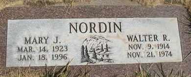 NORDIN, MARY J. - Coconino County, Arizona   MARY J. NORDIN - Arizona Gravestone Photos