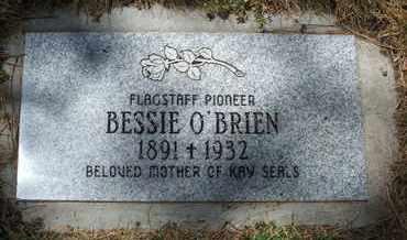 HARDEN O'BRIEN, BESSIE - Coconino County, Arizona | BESSIE HARDEN O'BRIEN - Arizona Gravestone Photos