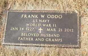 ODDO, FRANK W. - Coconino County, Arizona | FRANK W. ODDO - Arizona Gravestone Photos