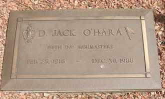 O'HARA, D. JACK - Coconino County, Arizona | D. JACK O'HARA - Arizona Gravestone Photos