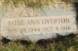 OVERTON, ROSE ANN - Coconino County, Arizona | ROSE ANN OVERTON - Arizona Gravestone Photos