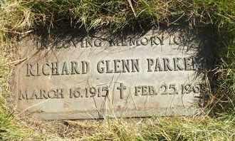PARKER, RICHARD GLENN - Coconino County, Arizona   RICHARD GLENN PARKER - Arizona Gravestone Photos