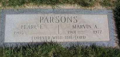 UNDERWOOD PARSONS, PEARL ETHA - Coconino County, Arizona | PEARL ETHA UNDERWOOD PARSONS - Arizona Gravestone Photos