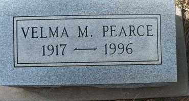 PEARCE, VELMA M. - Coconino County, Arizona | VELMA M. PEARCE - Arizona Gravestone Photos