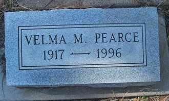 PEARCE, VELMA M. - Coconino County, Arizona | VELMA M. PEARCE - Arizona Gravestone Photos
