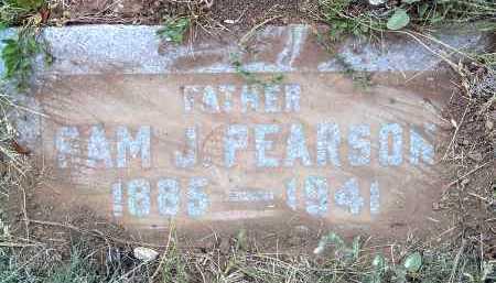 PEARSON, SAM J. - Coconino County, Arizona | SAM J. PEARSON - Arizona Gravestone Photos