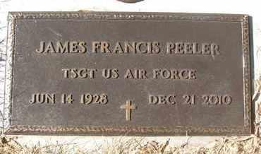 PEELER, JAMES FRANCIS - Coconino County, Arizona | JAMES FRANCIS PEELER - Arizona Gravestone Photos