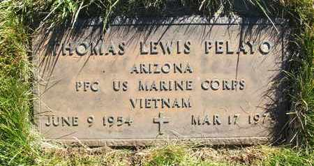 PELAYO, THOMAS LEWIS - Coconino County, Arizona   THOMAS LEWIS PELAYO - Arizona Gravestone Photos