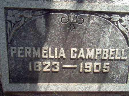 CAMPBELL, PERMELIA - Coconino County, Arizona | PERMELIA CAMPBELL - Arizona Gravestone Photos