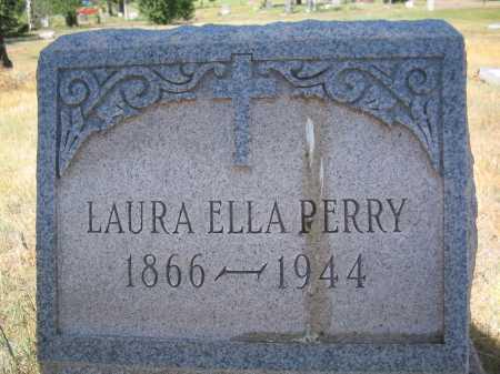 PERRY, LAURA ELLA - Coconino County, Arizona   LAURA ELLA PERRY - Arizona Gravestone Photos