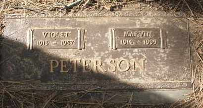 PETERSON, MARVIN - Coconino County, Arizona | MARVIN PETERSON - Arizona Gravestone Photos