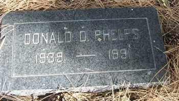 PHELPS, DONALD D. - Coconino County, Arizona   DONALD D. PHELPS - Arizona Gravestone Photos