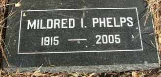 PHELPS, MILDRED I. - Coconino County, Arizona   MILDRED I. PHELPS - Arizona Gravestone Photos