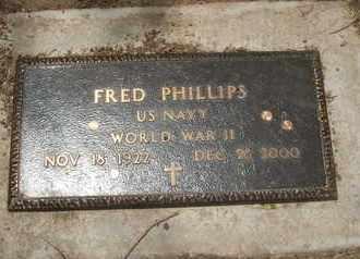 PHILLIPS, FRED - Coconino County, Arizona | FRED PHILLIPS - Arizona Gravestone Photos
