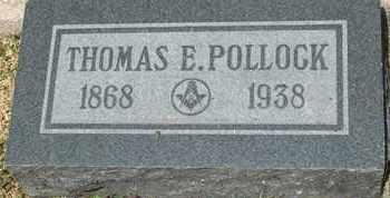 POLLOCK, THOMAS E. - Coconino County, Arizona | THOMAS E. POLLOCK - Arizona Gravestone Photos