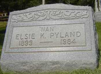 PYLAND, ELSIE K. - Coconino County, Arizona   ELSIE K. PYLAND - Arizona Gravestone Photos